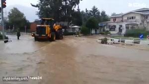 بارندگی شدید در رامسر