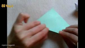 آموزش درست کردن موش با کاغذ رنگی و تکنیک اوریگامی