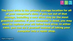 چگونگی نصب هارد دیسک جدید برای لپتاپ