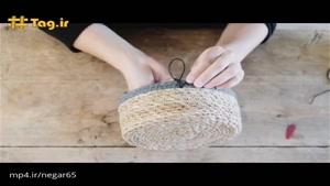 آموزش ساخت وسیله کاربردی برای نظم دادن به منزل با اسفاده از سبد