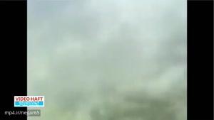 تایملپس از فرود هواپیمای ایرباس A۳۲۱ در فرودگاه ارومیه