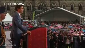 کانادا ۱۵۰ سالگی خود را جشن گرفت