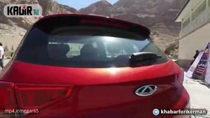 تست خودروی چری تیگو ۷ در پیست کارتینگ کرمان و دوئل دیدنی آن با هیوندای توسان