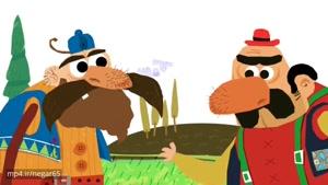 انیمیشن طنز با صدای جواد رضویان و مهران غفوریان