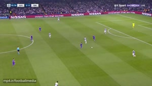 نیمه اول بازی یوونتوس رئال مادرید فینال لیگ قهرمانان اروپا