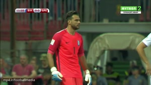 خلاصه بازی بوسنی ۰-۰ یونان