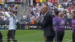 خلاصه بازی مالاگا ۰ - ۲ رئال مادرید (لالیگا)