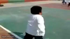 مسابقه دو بچه ها