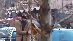 واکنش خنده دار مردم به صدای شلیک ضدهوایی در تهران :) People's reaction to anti-aircraft fire
