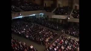 قسمتی از اجرای حسن ریوندی در سالن بزرگ کشور