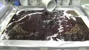 شستن فرش ابریشم قم معصومی