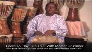 آموزش ساز افریقایی جیمبی-بخش ۴