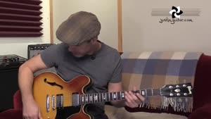 ریتم جاز با گیتار