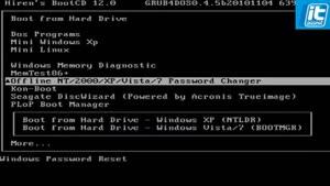 هک کردن پسورد ویندوز هفت