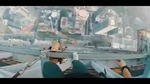 وحشتناک ترین تفریحات باورنکردنی در ارتفاع