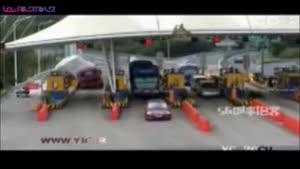 چپ کردن کامیون