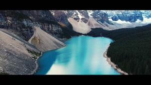 فیلم هوایی از پارک طبیعی بانف