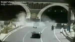تصادف در تونل رسالت