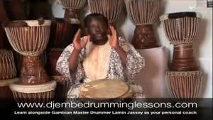 آموزش ساز افریقایی جیمبی-بخش ۵