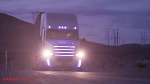 رانندگی با تریلی Freightliner