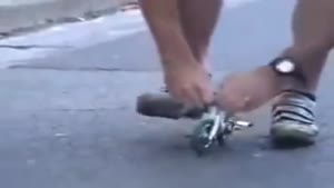 کوچکترین دوچرخه دنیا