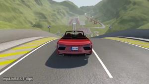 بازی جالب پرتاب خودرو