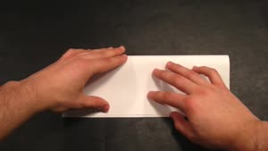 طرز ساخت بومرنگ کاغذی