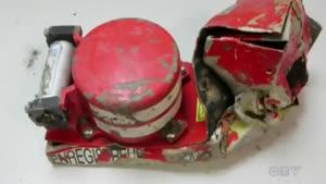 شبیه سازی صانحه سقوط هواپیما در کوه های آلپ