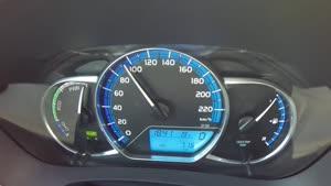 ۰ تا ۱۰۰ Toyota Yaris Hybrid