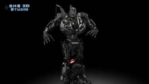 انیمیشن سیدحمیداسماعیلی تبدیل سمند به ربات