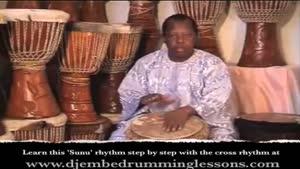 آموزش ساز افریقایی جیمبی-بخش ۶