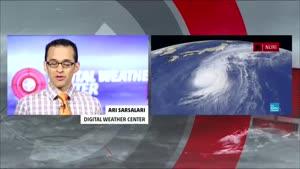 طوفان شدید در آلاسکا