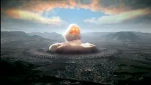 لحظه انفجار بمب در هیروشیما