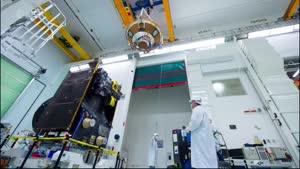 تایم لپس پرتاب موشک به مریخ