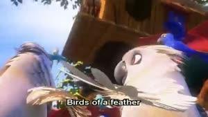 انیمیشن پرندگان بهشتی