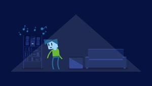 انیمیشن کوتاه - وقتی برق ها خاموش میشن