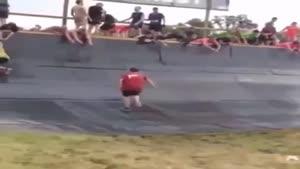 ورزشکار خنده دار