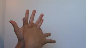 دست به شکل مار