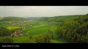 فیلم هوایی از طبیعت سوئیس