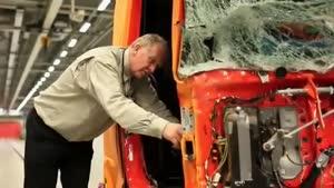 تست ایمنی Volvo FH ۲۰۱۲