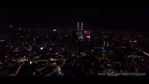 آتش بازی زیبا ۲۰۱۶ در کوالالاپور