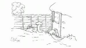 انیمیشن زیبا از گربه بازیگوش
