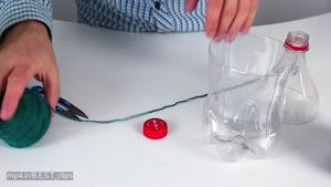 خلاقیت های جالب با بطری بازیافتی