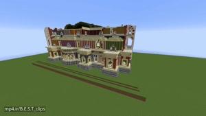 Minecraft Timelapse - Royal Mansion