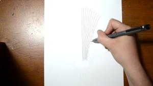 تایم لپس نقاشی گودال سه بعدی