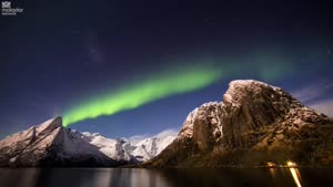 تایم لپس طبیعت بسیار زیبا از نروژ