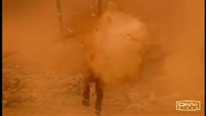 سکانسی از خمپاره زدن به یک تروریست در فیلم