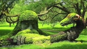 زیبا ترین پارک و باغ ها در جهان