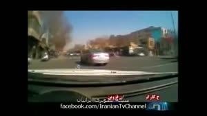 تعقیب و گریز پلیس با تبهکار حرفه ای در تهران