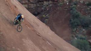 پایین اومدن از کوه با دوچرخه